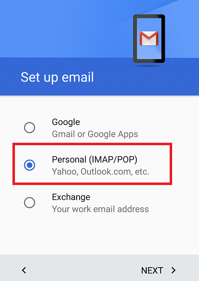How to configure Plesk mail in Android - Layershift KB