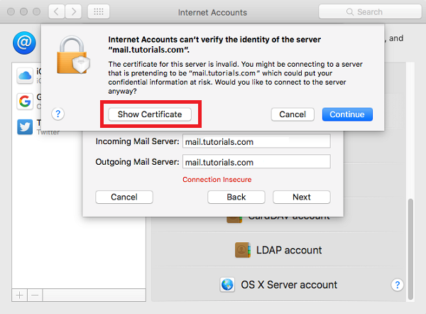 How to configure Plesk mail in Mac - Layershift KB