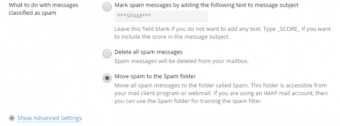 what to do with spam